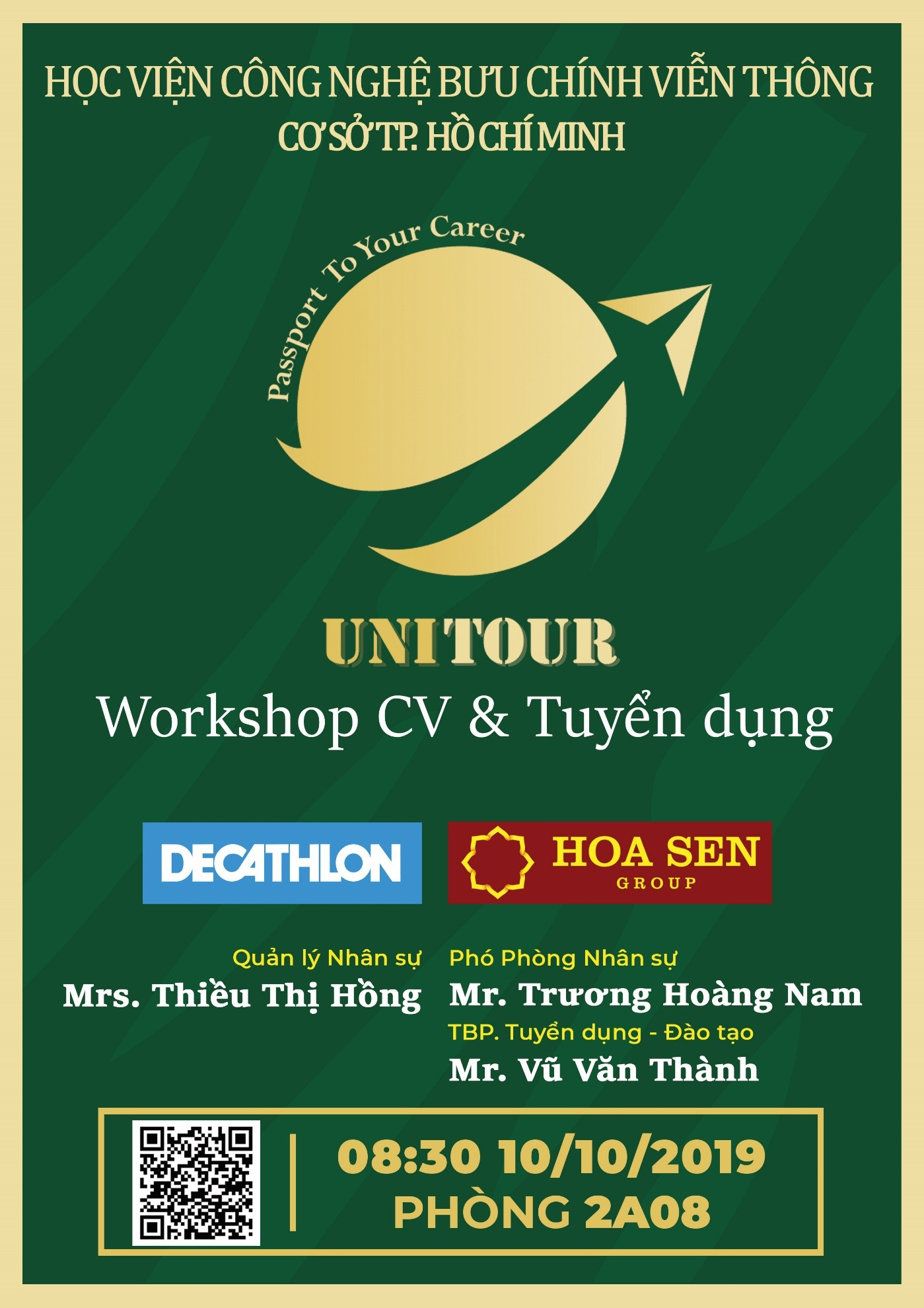 WORKSHOP: 'UniTour – Passport to your career'
